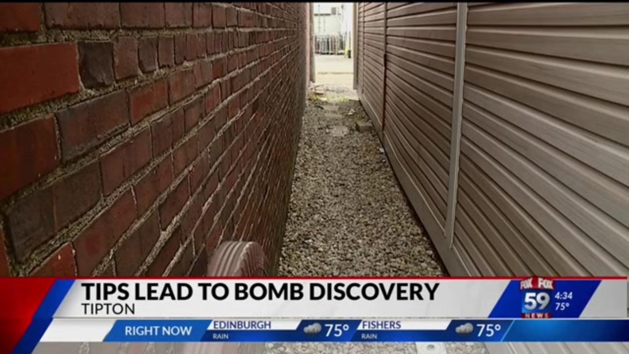 Bomb discovered after Indiana woman notices suspicious backpack