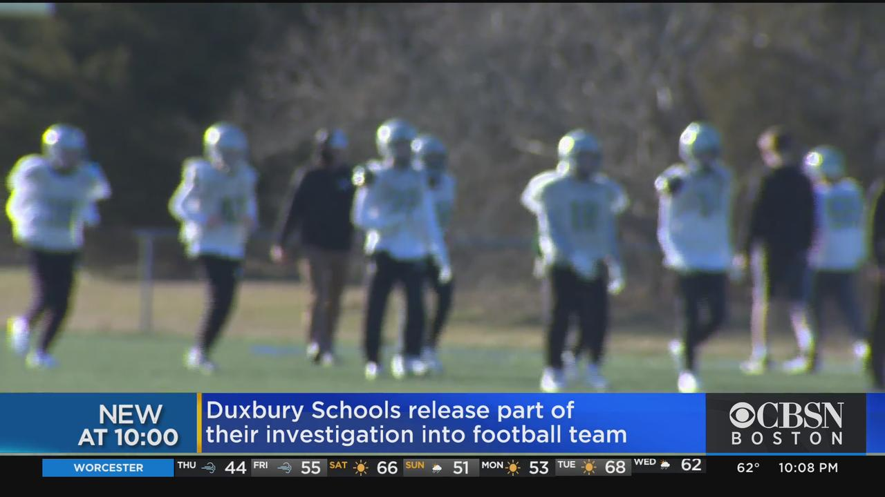 Duxbury Releases Results Of Investigation Into Football Team