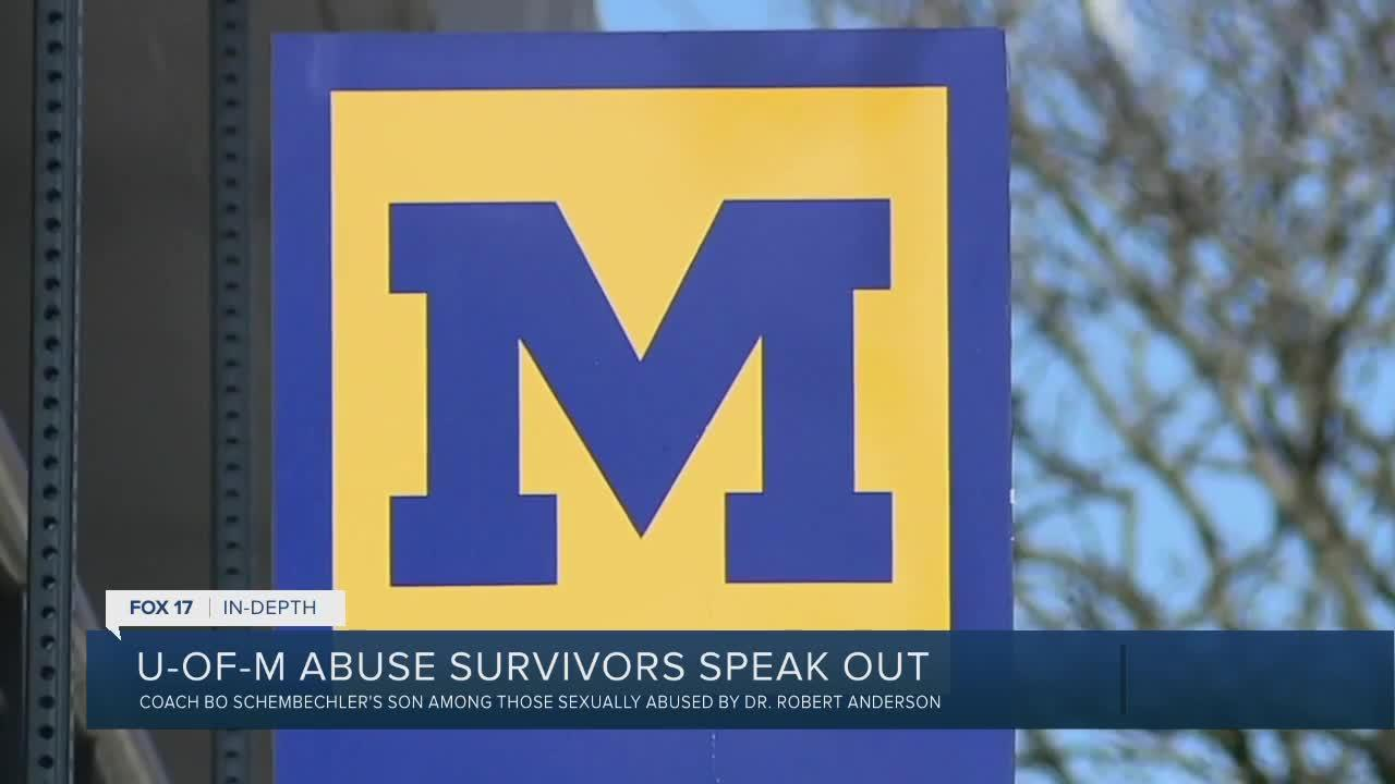 U of M abuse survivors speak out