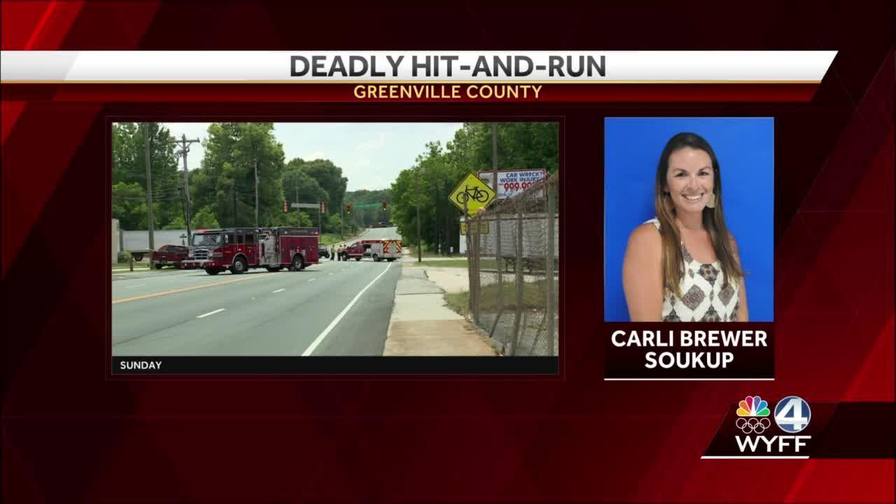 Investigators identify hit-and-run driver in crash that killed Greenville County teacher on bicycle