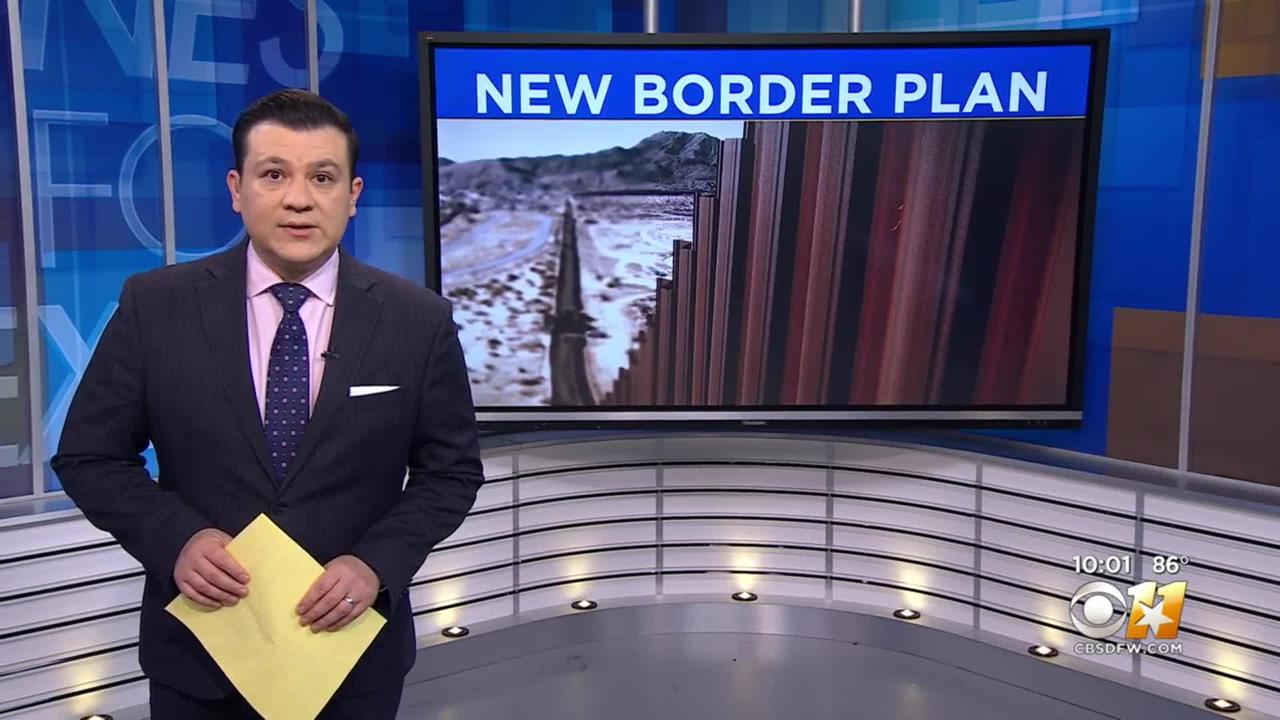 Gov. Abbott Says Texas Plans To Build Southern Border Wall