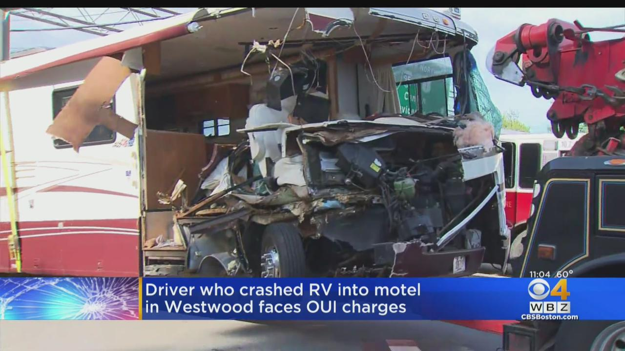 Driver Charged With OUI After RV Crashed Into Westwood Motel