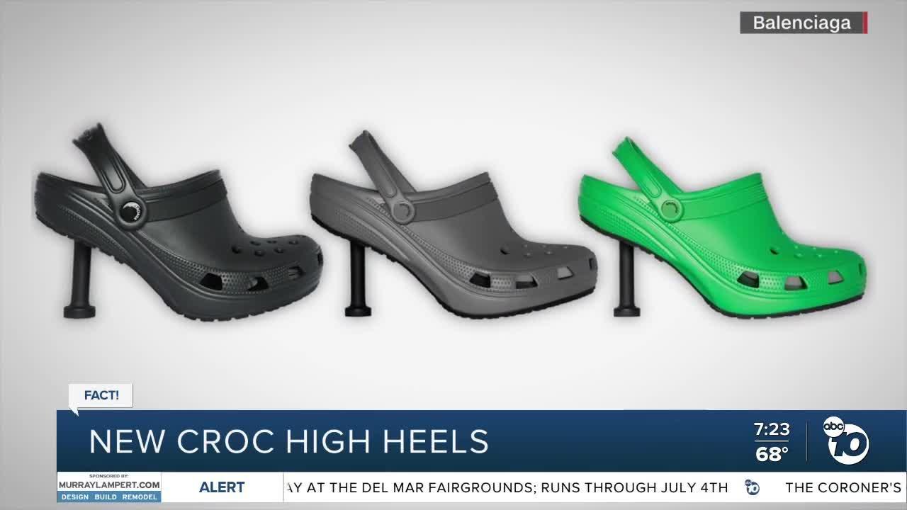 Fact or Fiction: New croc high heels?