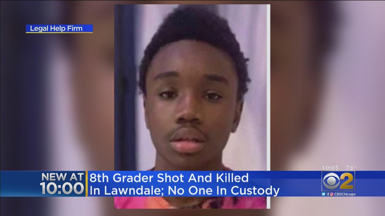 8th Grader Shot, Killed In Lawndale; No One In Custody