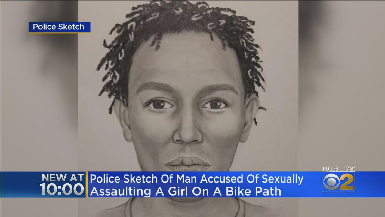 Police Release Sketch Of Man Accused Of Sexually Assaulting Girl On Bike Path In Beach Park