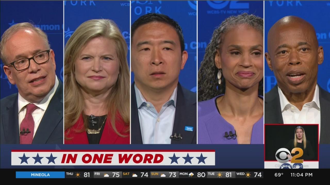 Top Democratic Contenders In NYC Mayoral Race Face Off In Final Debate Before Early Voting Begins