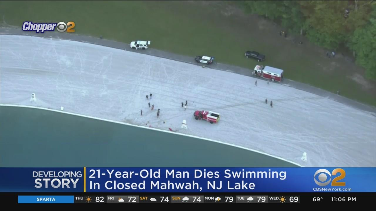 21-Year-Old Man Dies Swimming In Closed Mahwah Lake