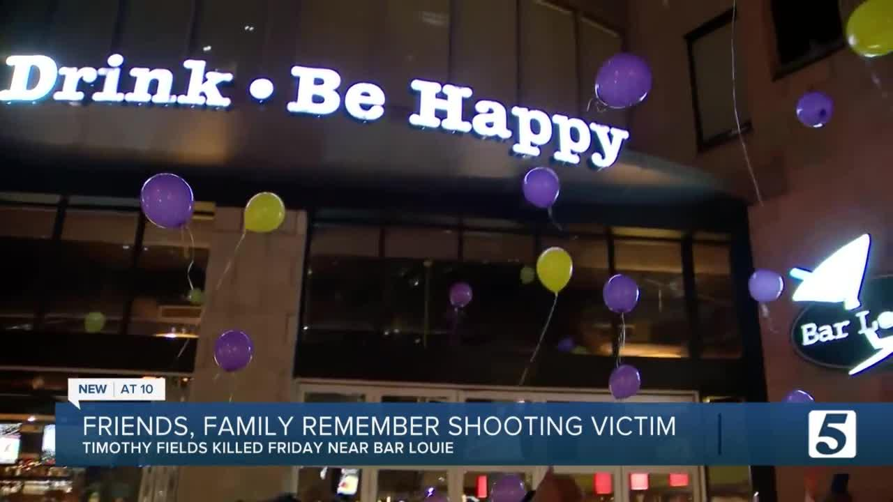 Vigil held in the Gulch for shooting victim