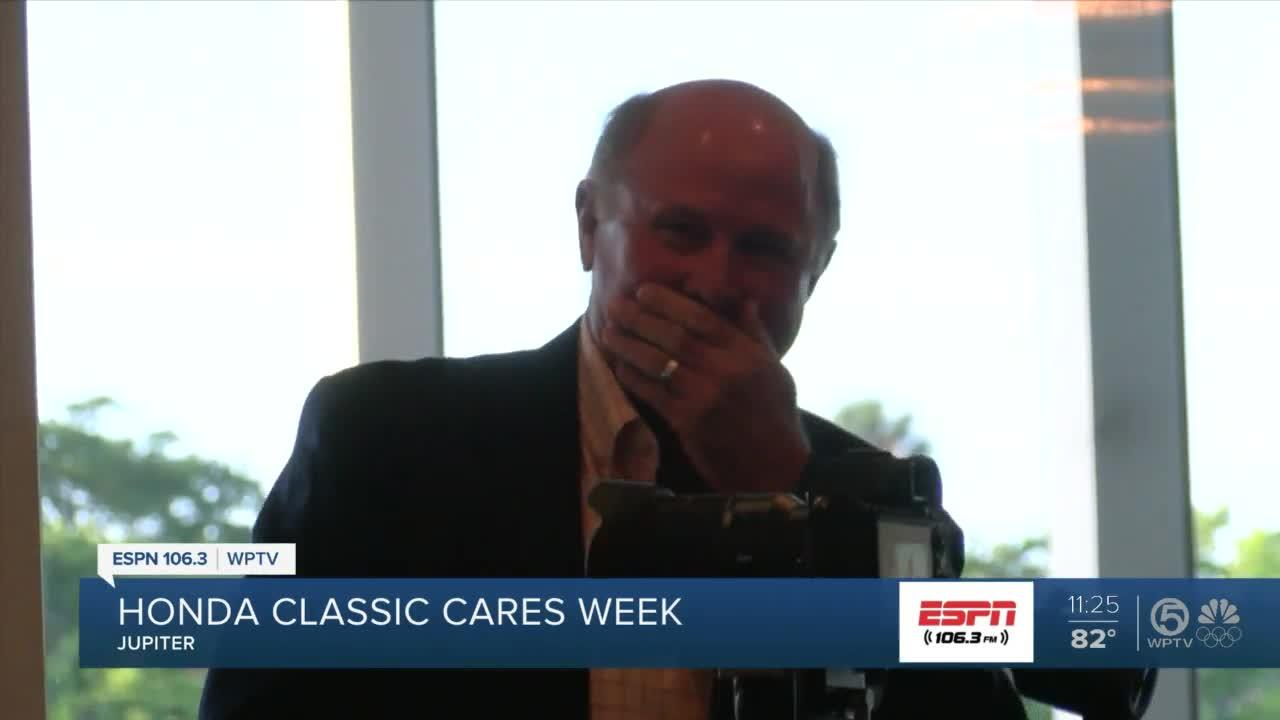 Honda Classic Cares gives out a new car