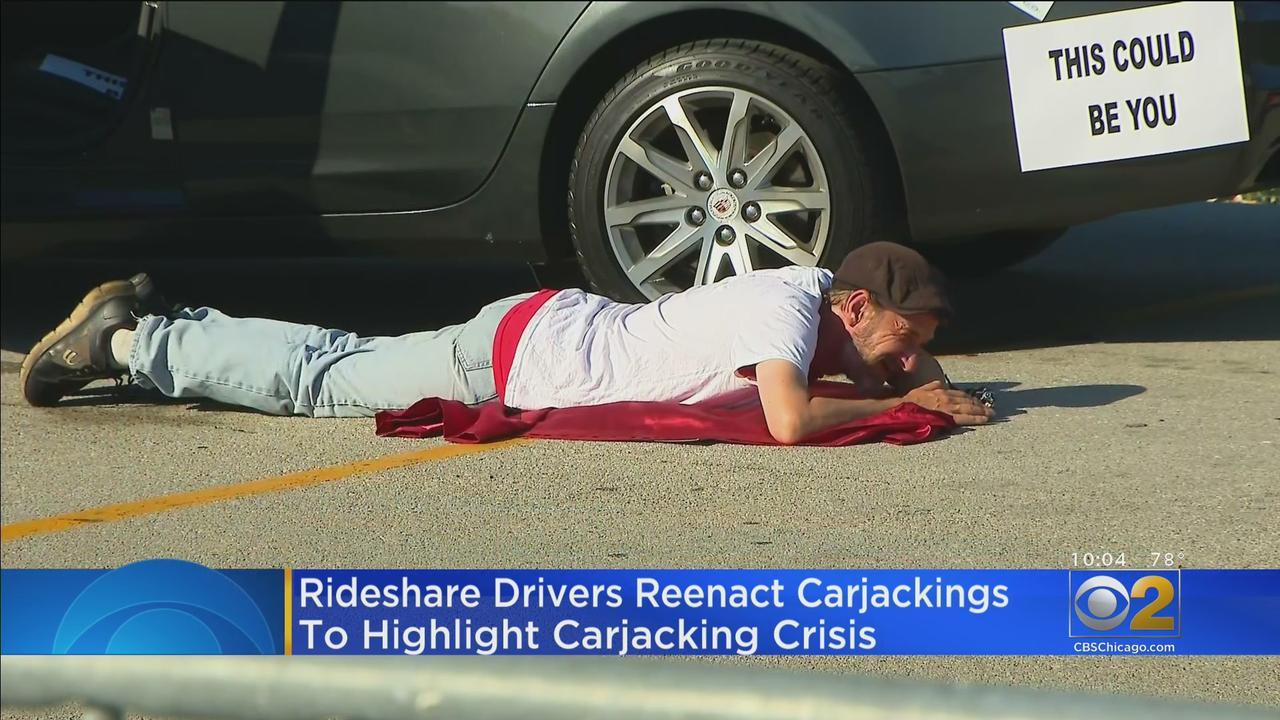 Rideshare Drivers Dramatize Violent Carjackings To Highlight Crisis