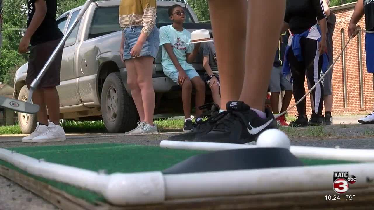 Summer camp teaches golf, life skills to youth