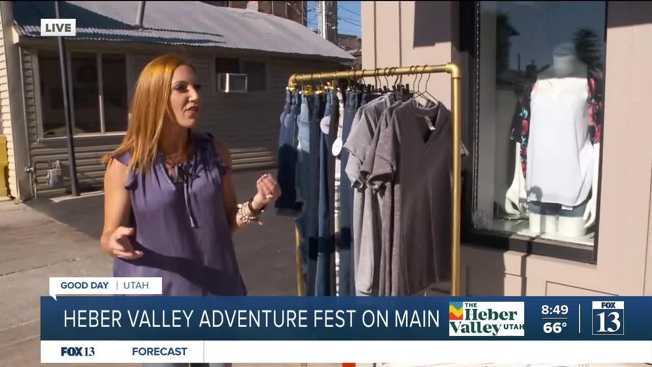 Heber Valley Adventure fest on main