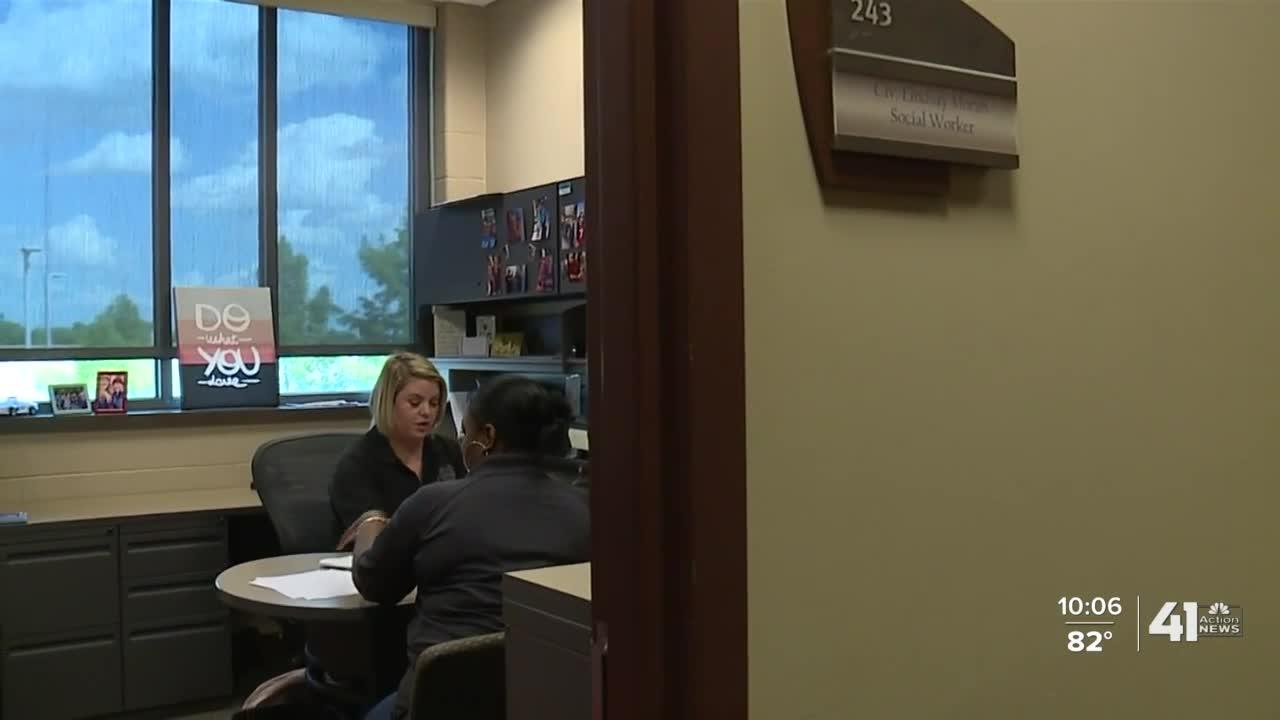 KCPD social workers care for victims' families