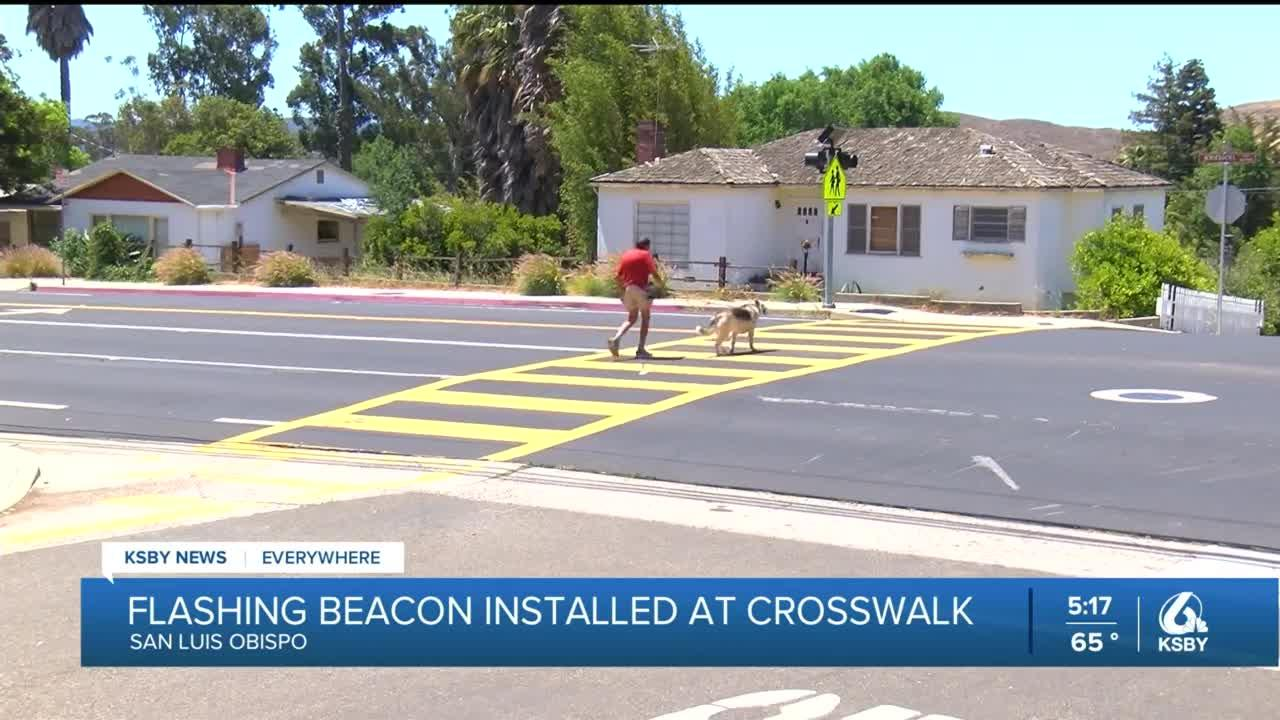 After complaints about speeding cars, City of SLO works to make Johnson Ave. crosswalk safer
