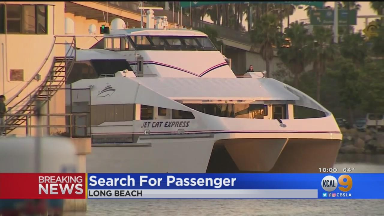 Authorities Search For Person Who Reportedly Fell Overboard Off Coast Of Long Beach