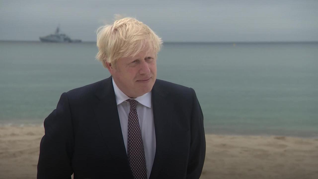 PM talks up UK's 'colossal' global vaccine pledge