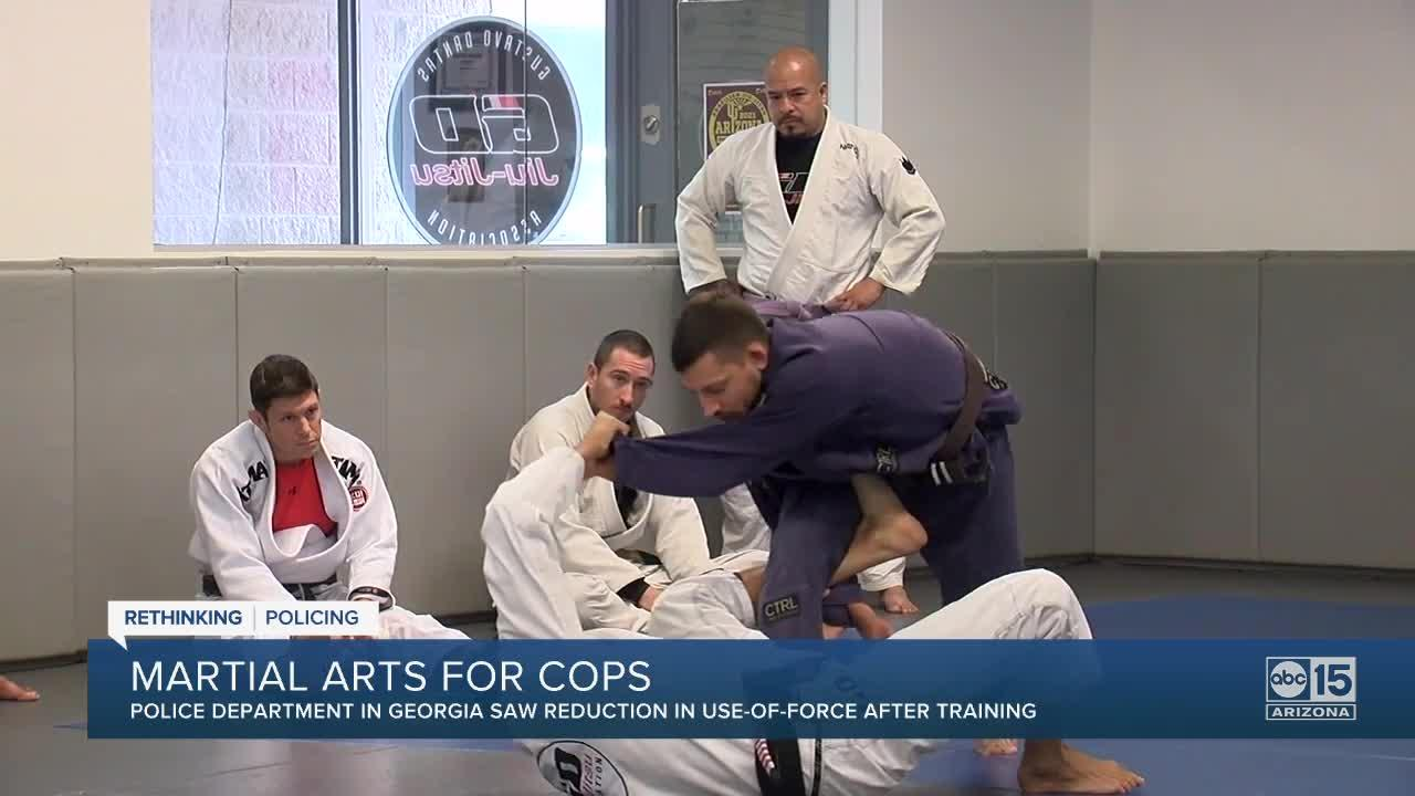 How one police agency used martial arts to reduce use-of-force injuries