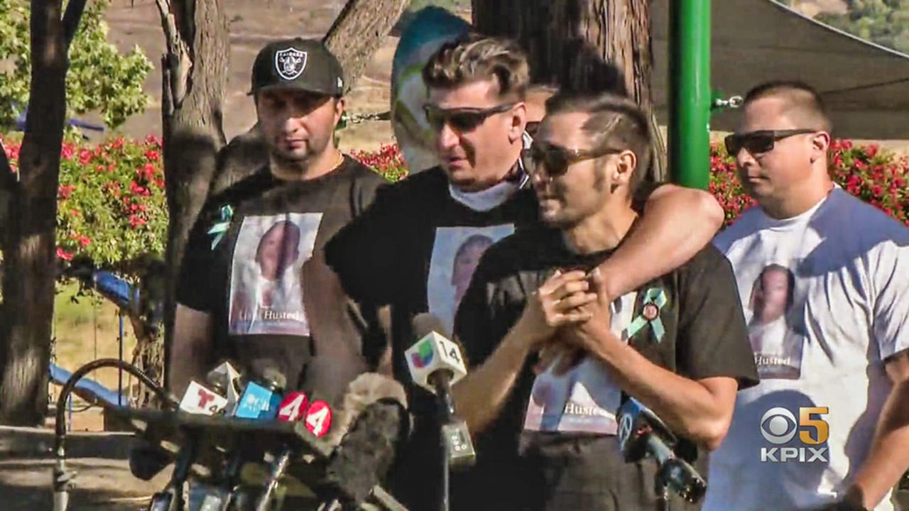 Friends, Family Remember Liam Husted at Thursday Afternoon Vigil in San Jose