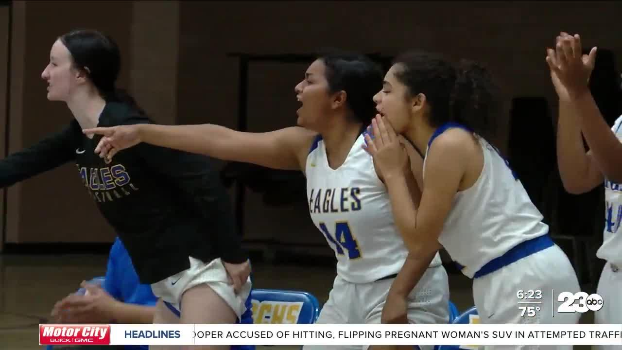 23ABC Power of Sports:  BCHS Eagles girls basketball making the most of postseason run