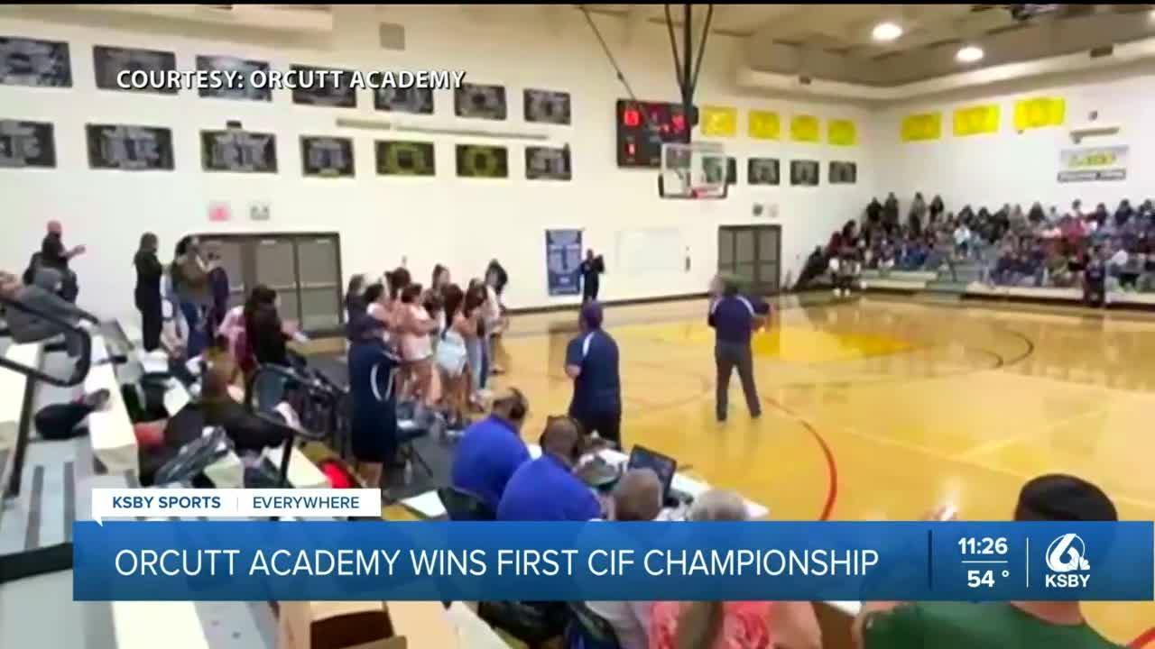 Orcutt Academy wins first CIF Central Section Championship