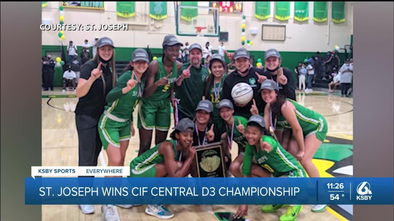 St. Joseph wins the CIF Central D3 Championship