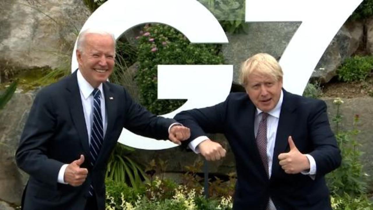 Biden, Johnson meet one-on-one ahead of G7 summit