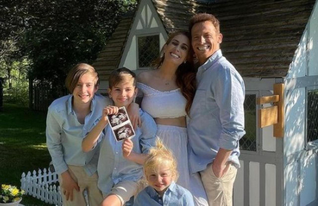 Stacey Solomon ist wieder schwanger