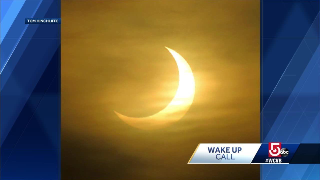 Wake Up Call: Amazing solar eclipse photos