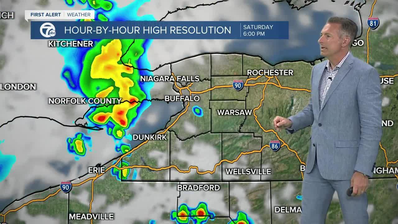 7 First Alert Forecast 5am Update, Friday, June 11