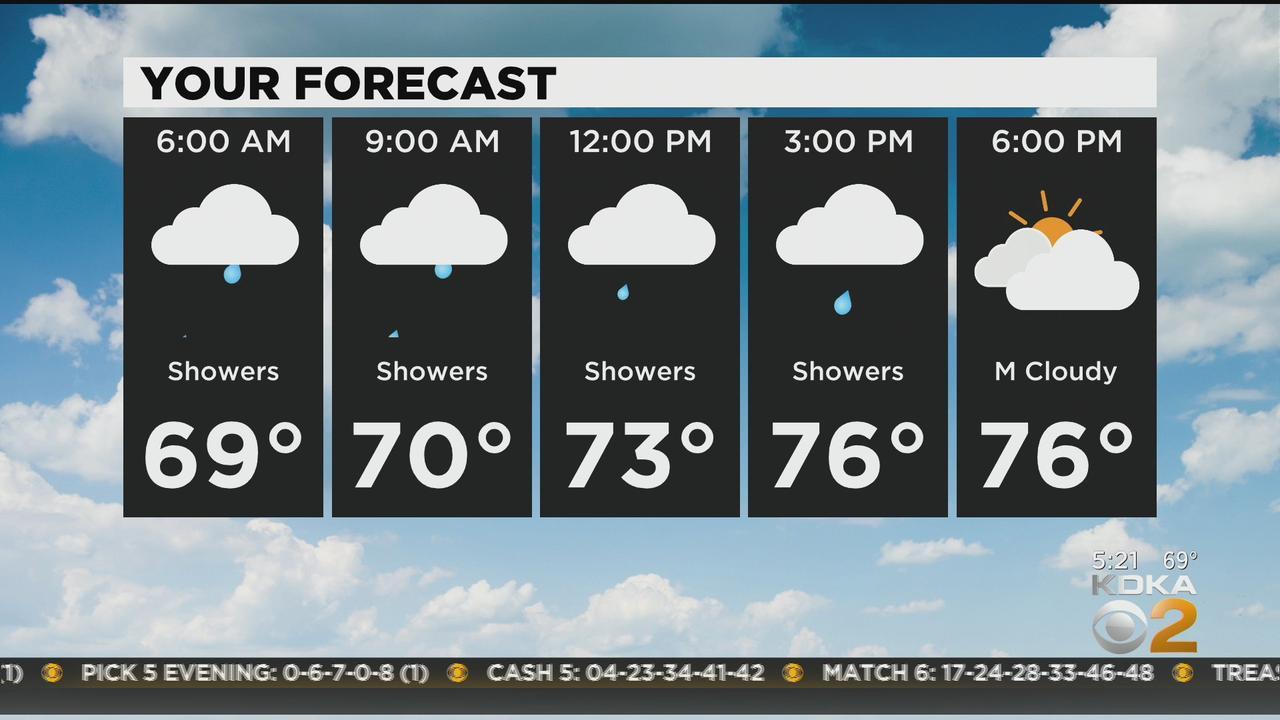 KDKA-TV Morning Forecast (6/11)