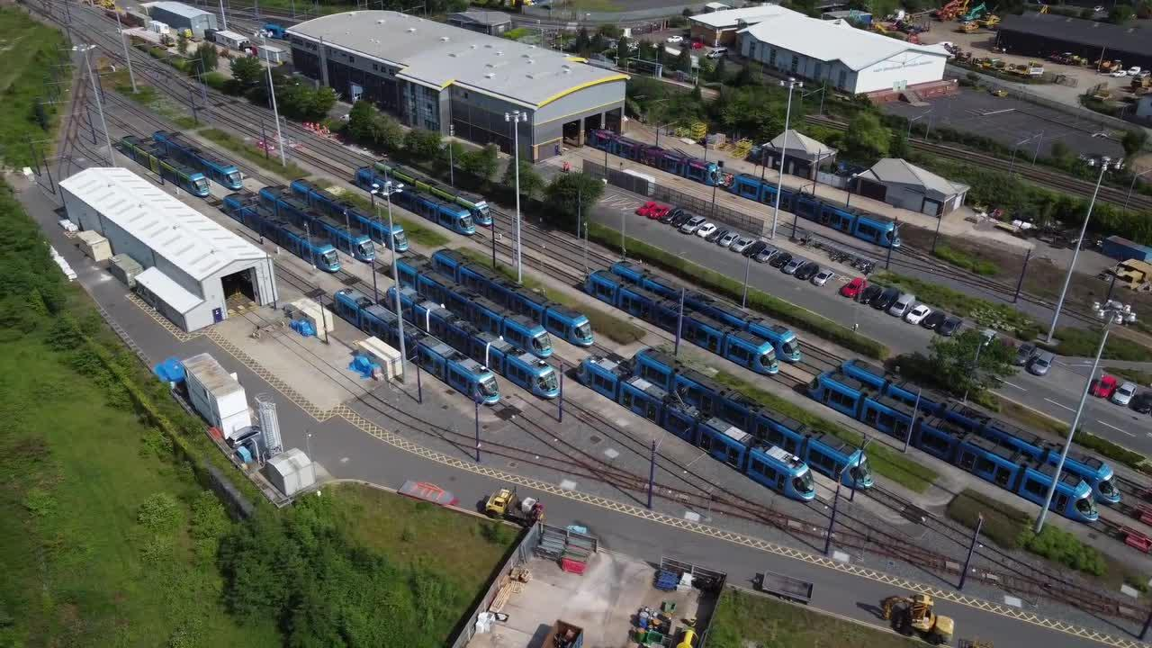 West Midlands Metro suspends all 21 trams due to technical fault in the UK
