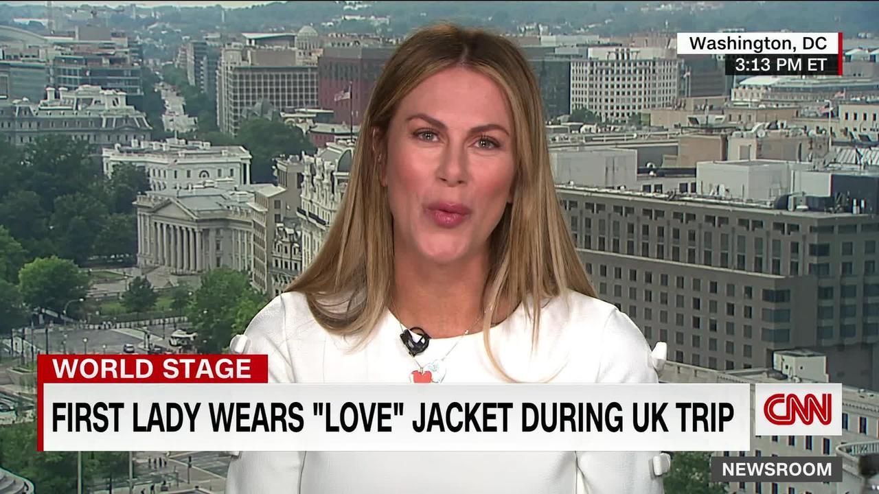 'It's a troll': CNN reporter on Jill Biden's 'love' jacket
