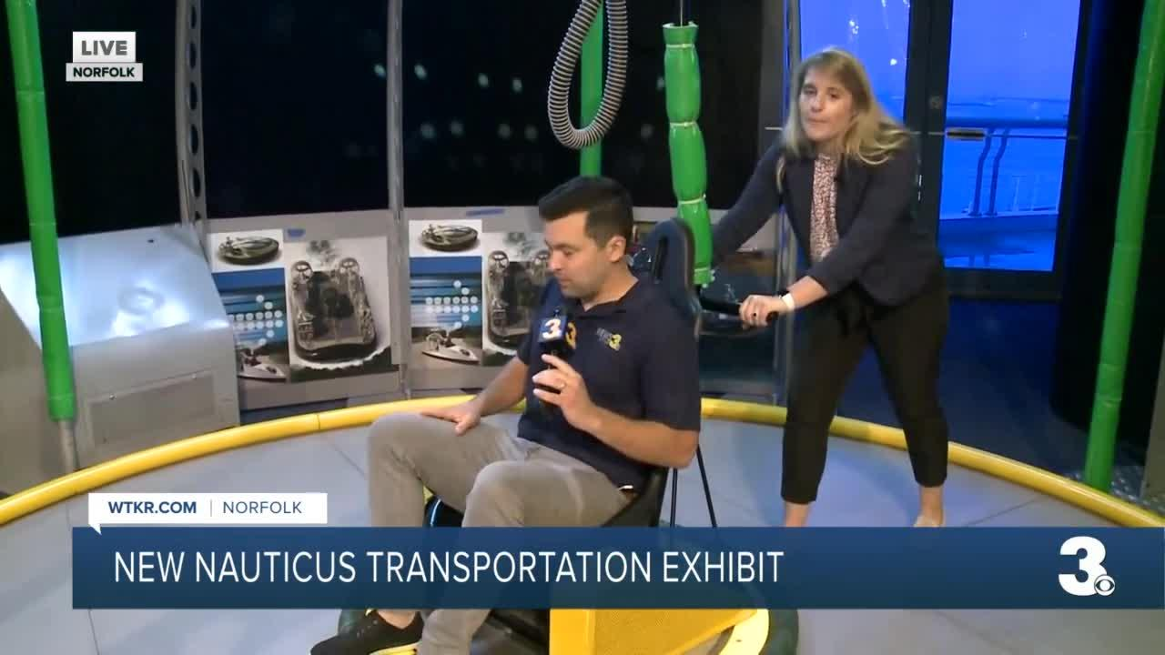 New Nauticus transportation exhibit