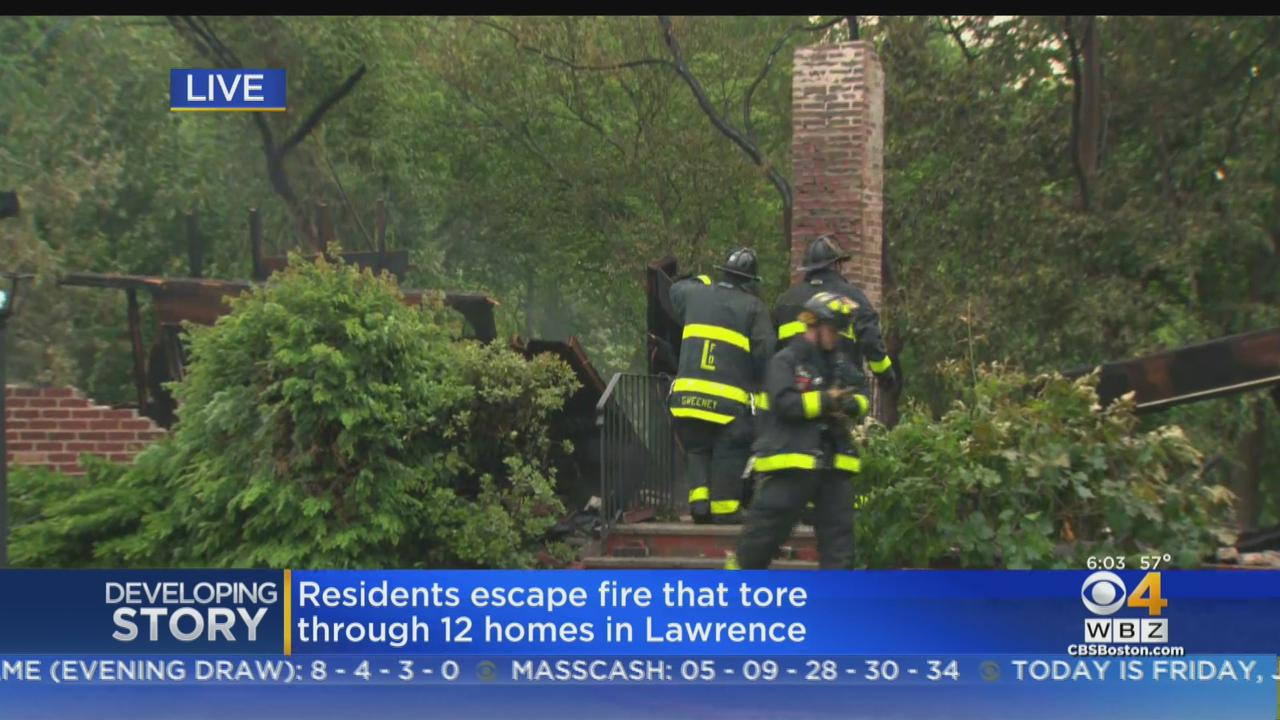Massive Fire 'Had A Major Head Start' Before Destroying Lawrence Townhomes