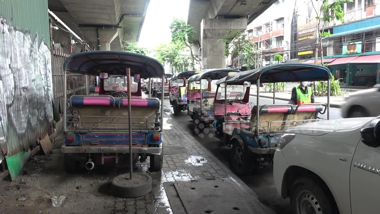 Thailand's famous tuk-tuks rusting and gathering dust as Covid-19 decimates tourism industry