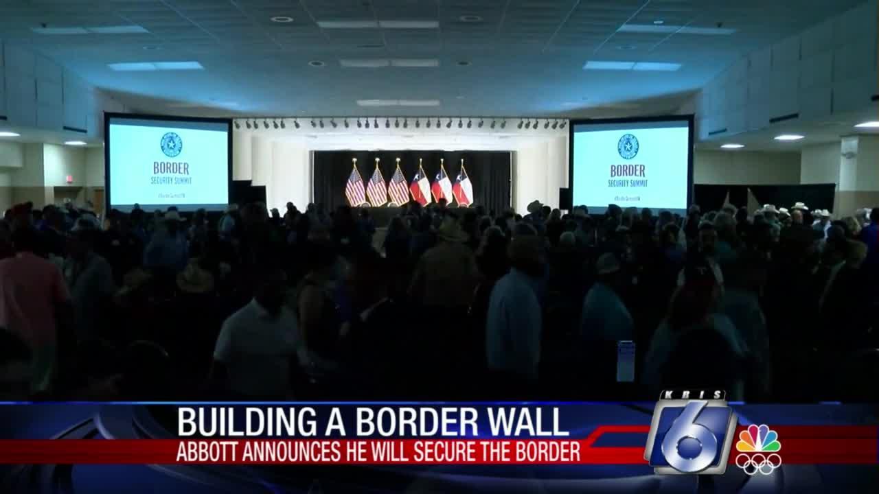 Building a border wall