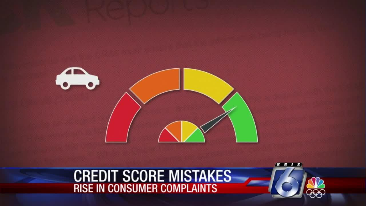 Credit score mistakes