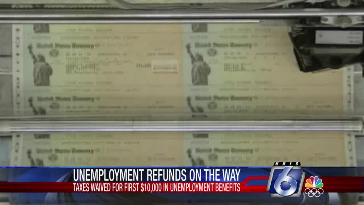 Unemployment refunds on the way