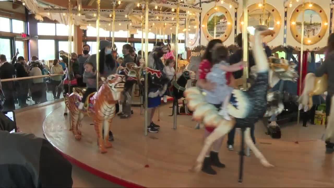 Buffalo Heritage Carousel reaches 10,000th rider Thursday