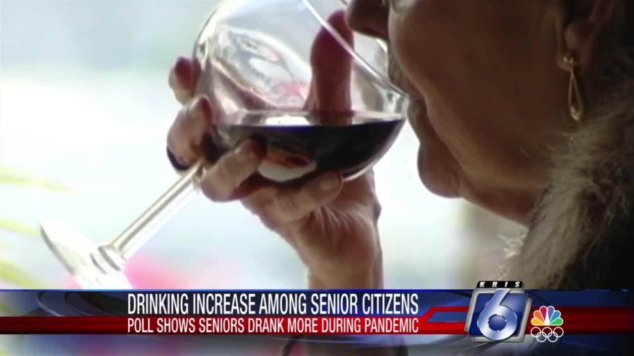 Drinking increase among senior citizens