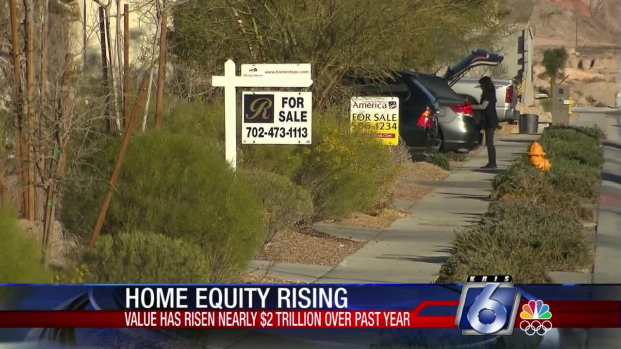 Home equity rising
