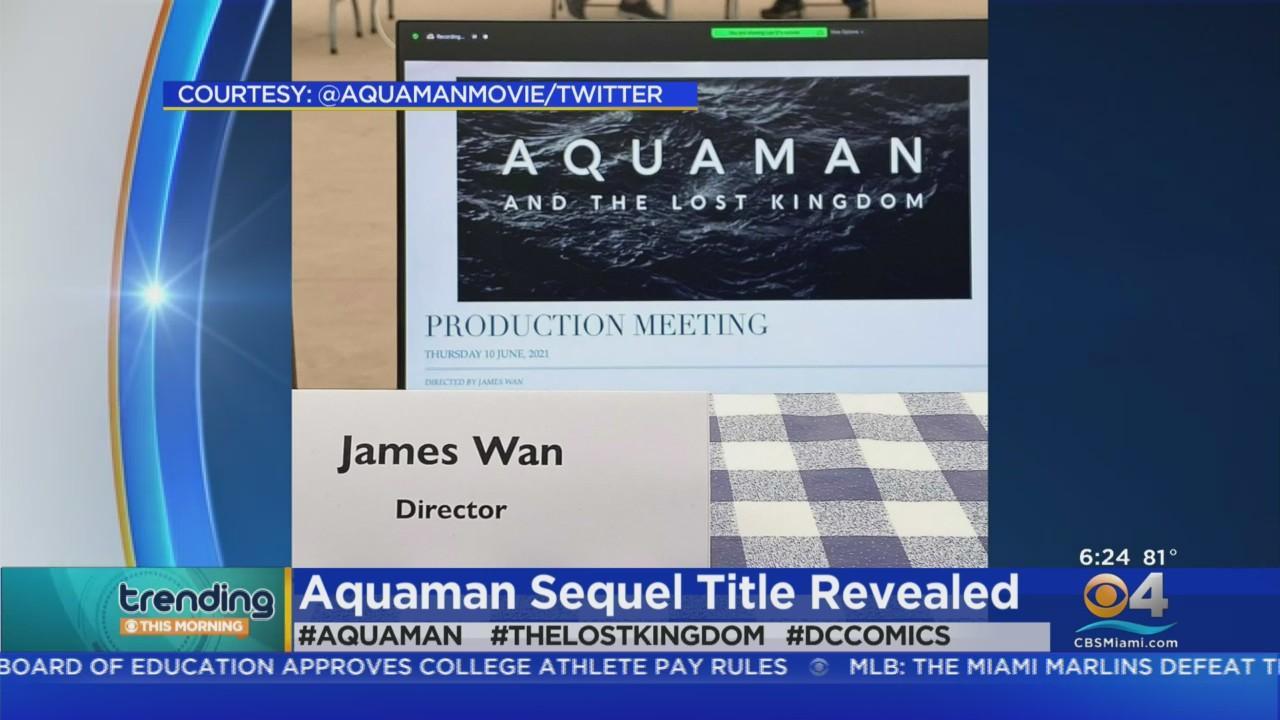 Trending: Aquaman 2