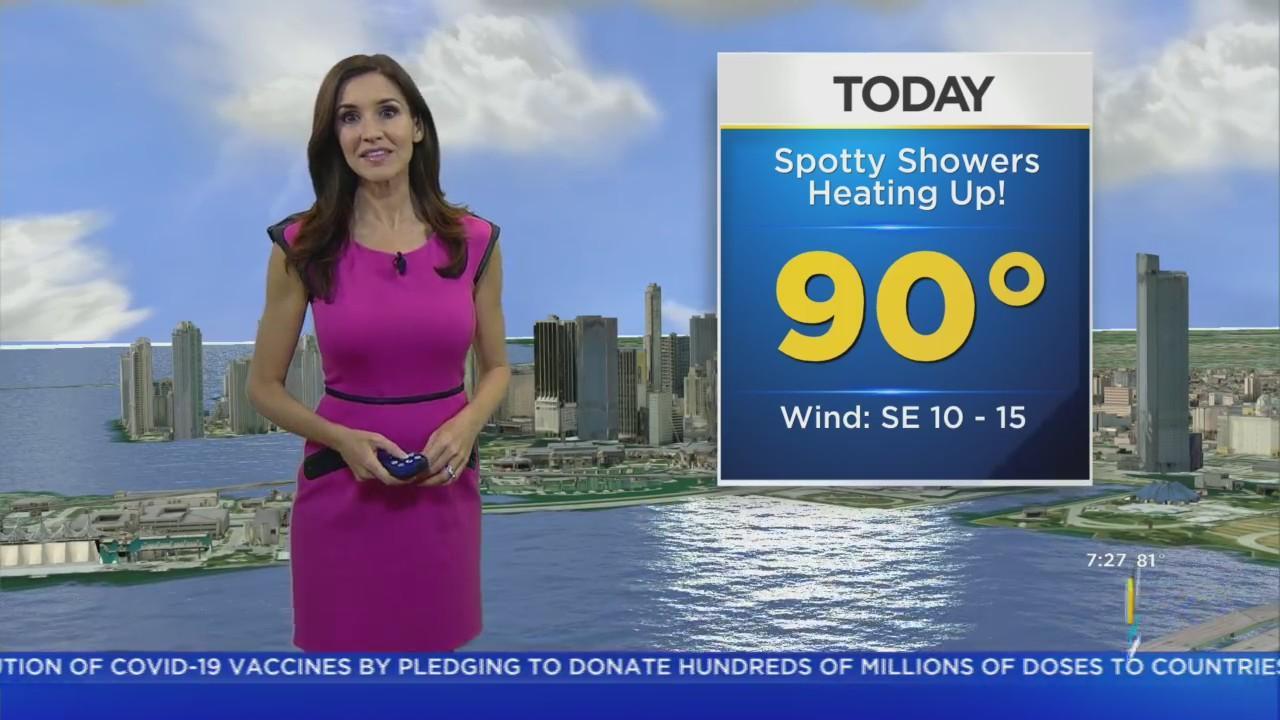 CBS4 Forecast For Friday 6/11/2021