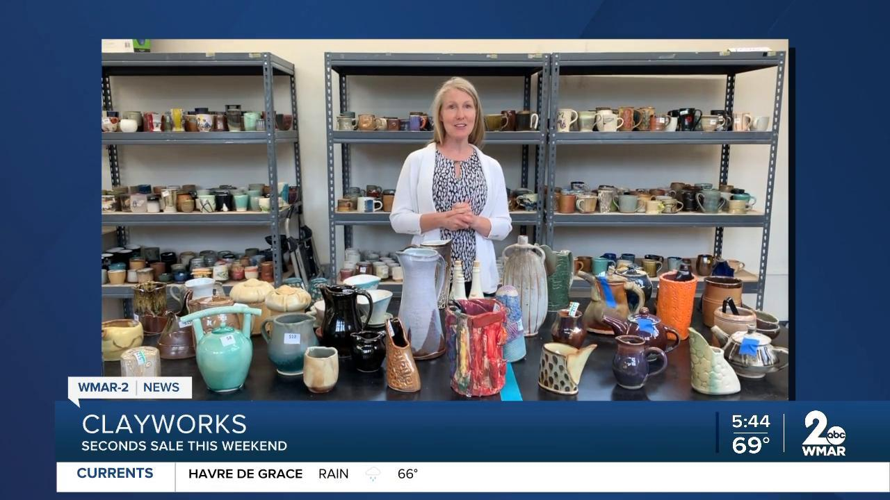 Preview Party Friday night for Baltimore Clayworks' Second Sale