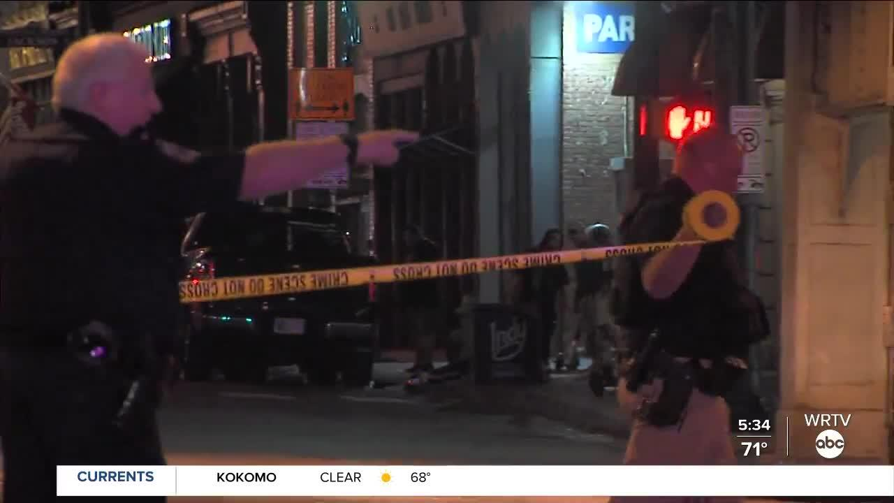 Man shot in downtown Indianapolis, at South and Meridian