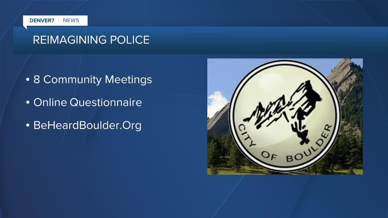 Boulder working to reimagine police