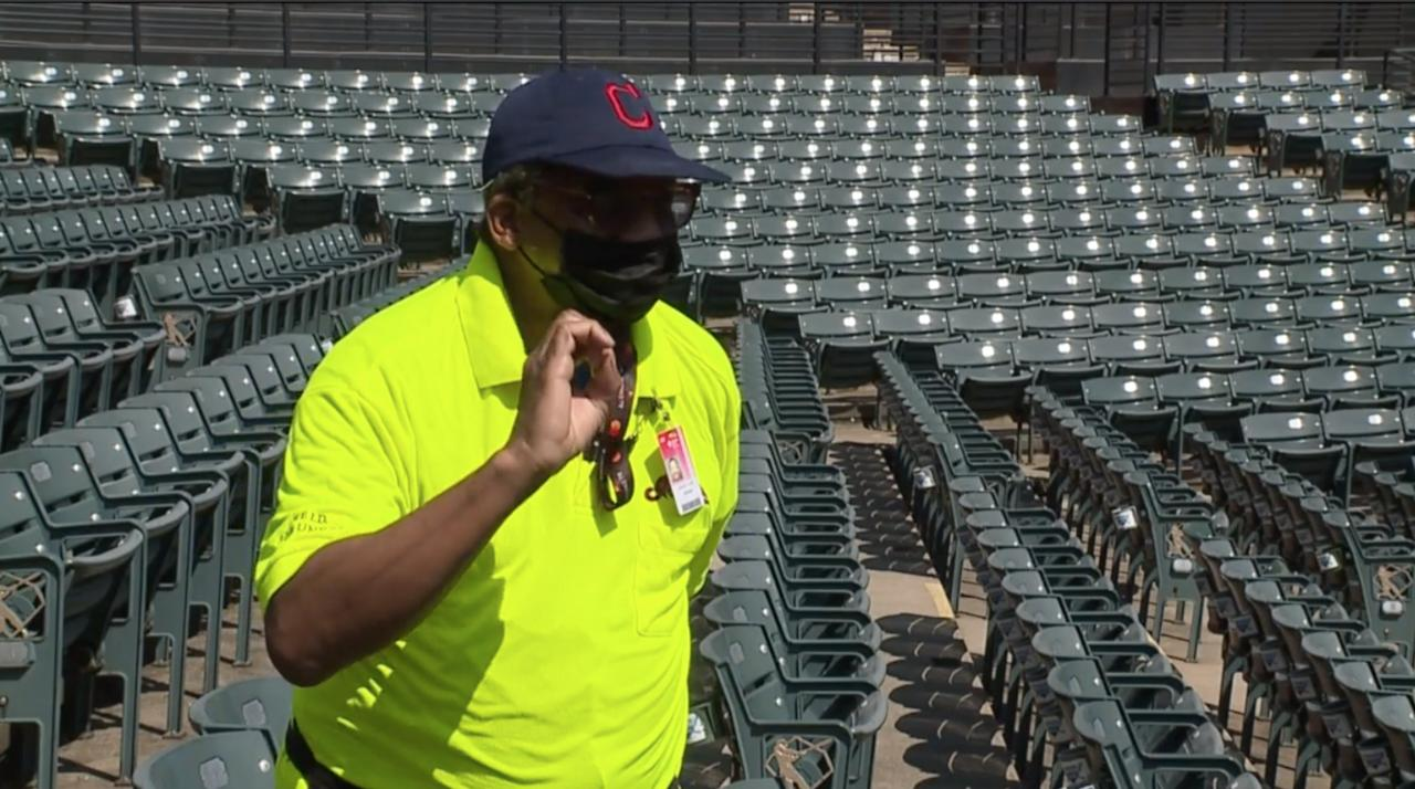 The 'Beer Guy' is back to greet fans at Progressive Field