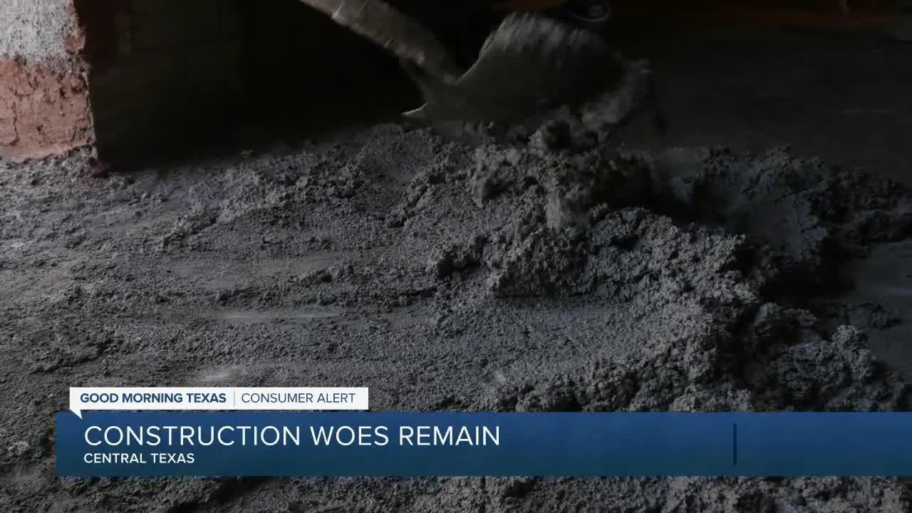 Concrete, other shortages affecting construction