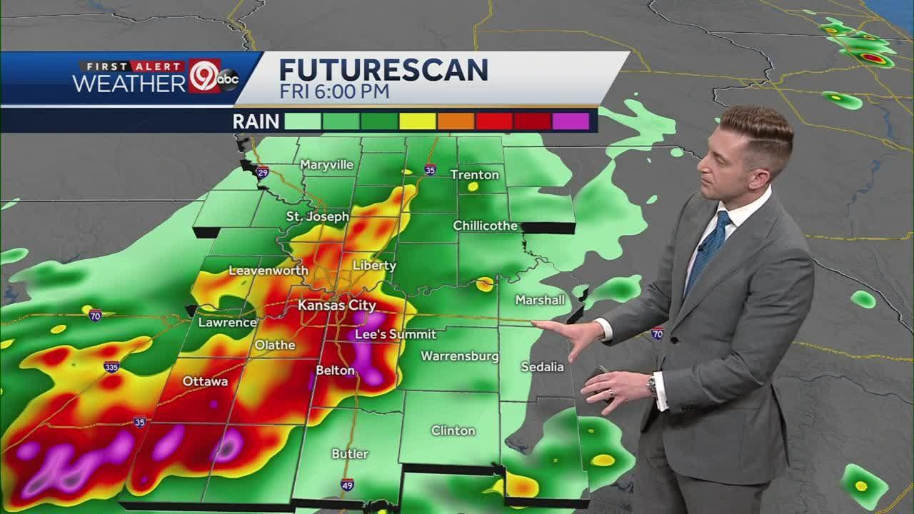 Damaging wind, hail are greatest risks for Friday thunderstorms