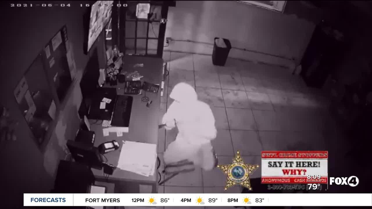 Man breaks into North Fort Myers business